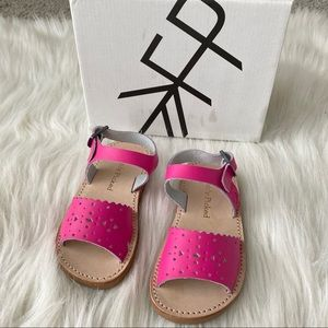 Freshly Picked Pink Leather Sandals - Never Worn